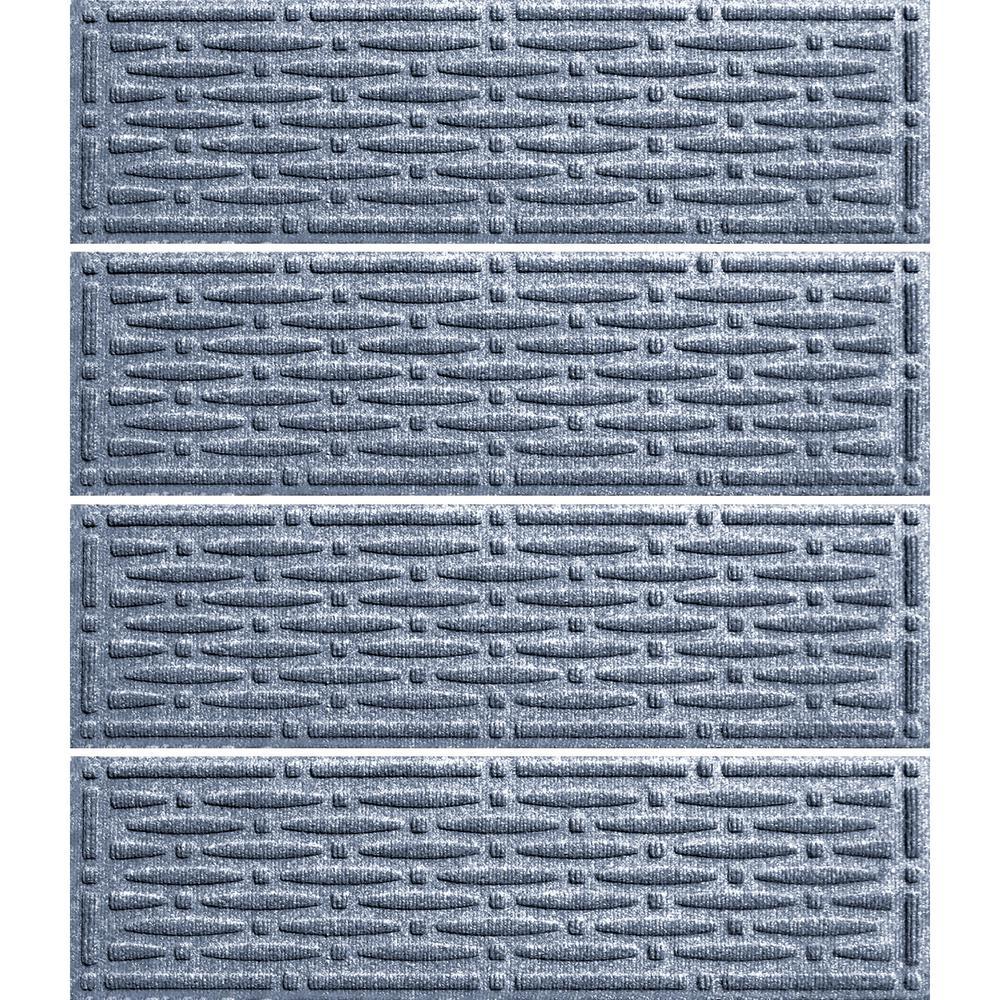 Bluestone 8.5 in. x 30 in. Mesh Stair Tread Cover (Set of 4)