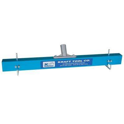 24 in. Gauge Rake with Bracket