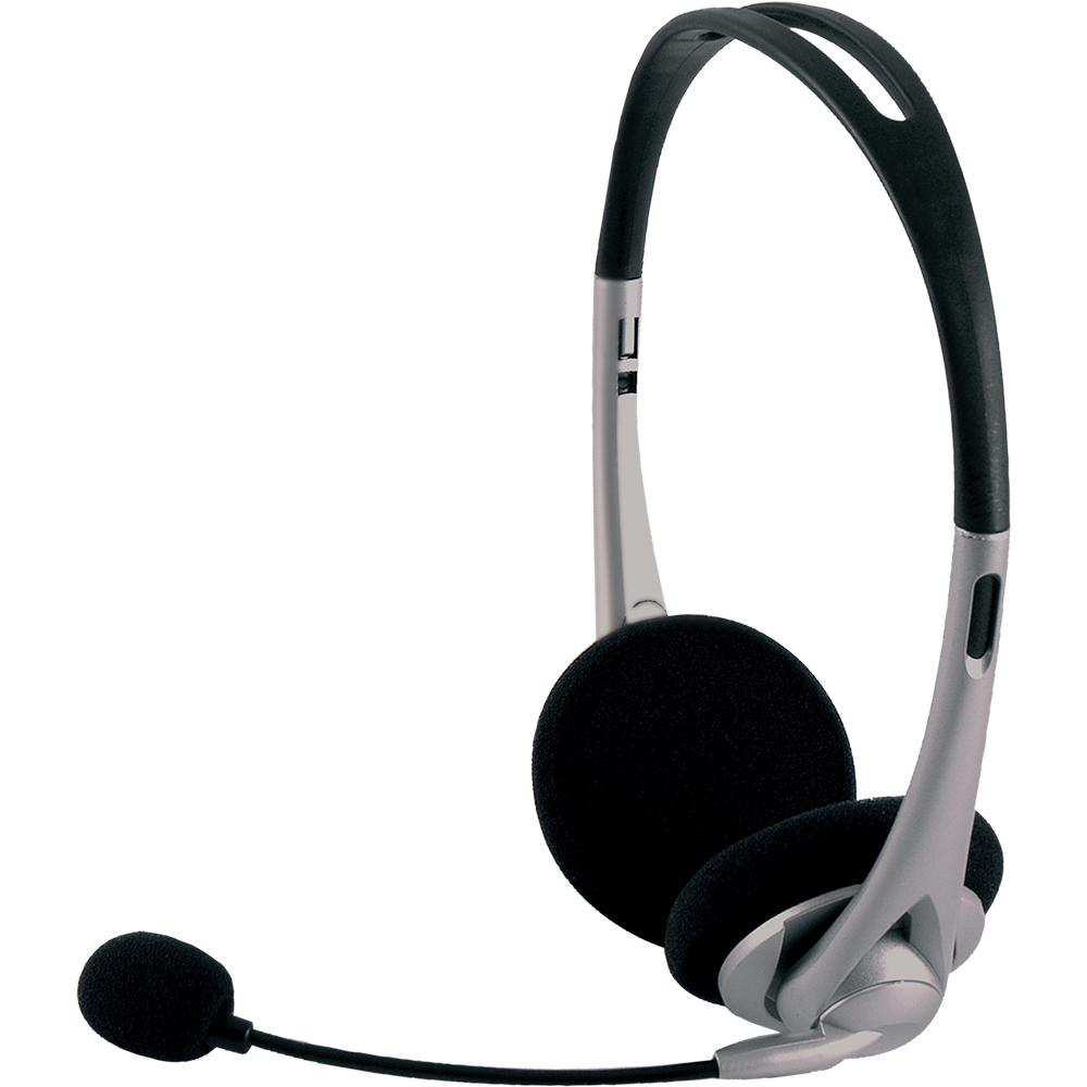GE VoIP All-In-One Headset, Black
