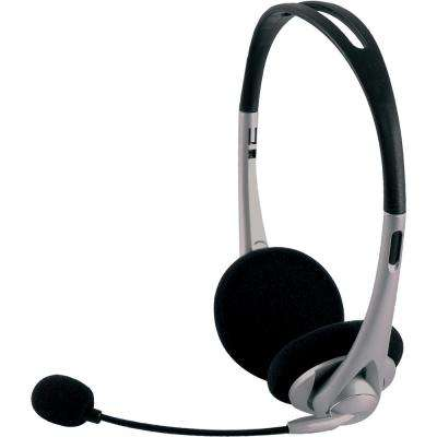 VoIP All-In-One Headset, Black