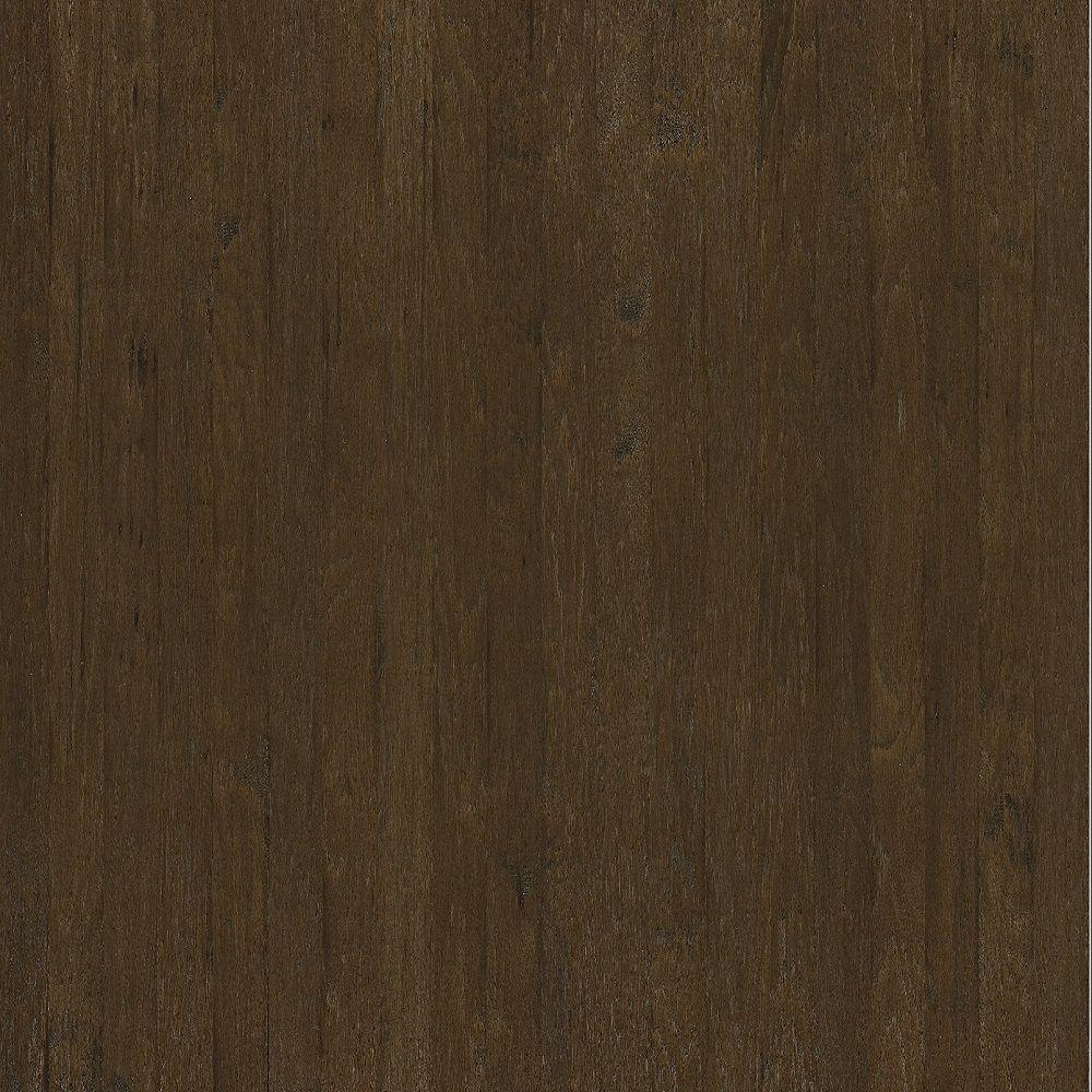 Shaw Hand Scraped Western Hickory Saddle Engineered Hardwood Flooring - 5 in. x 7 in. Take Home Sample