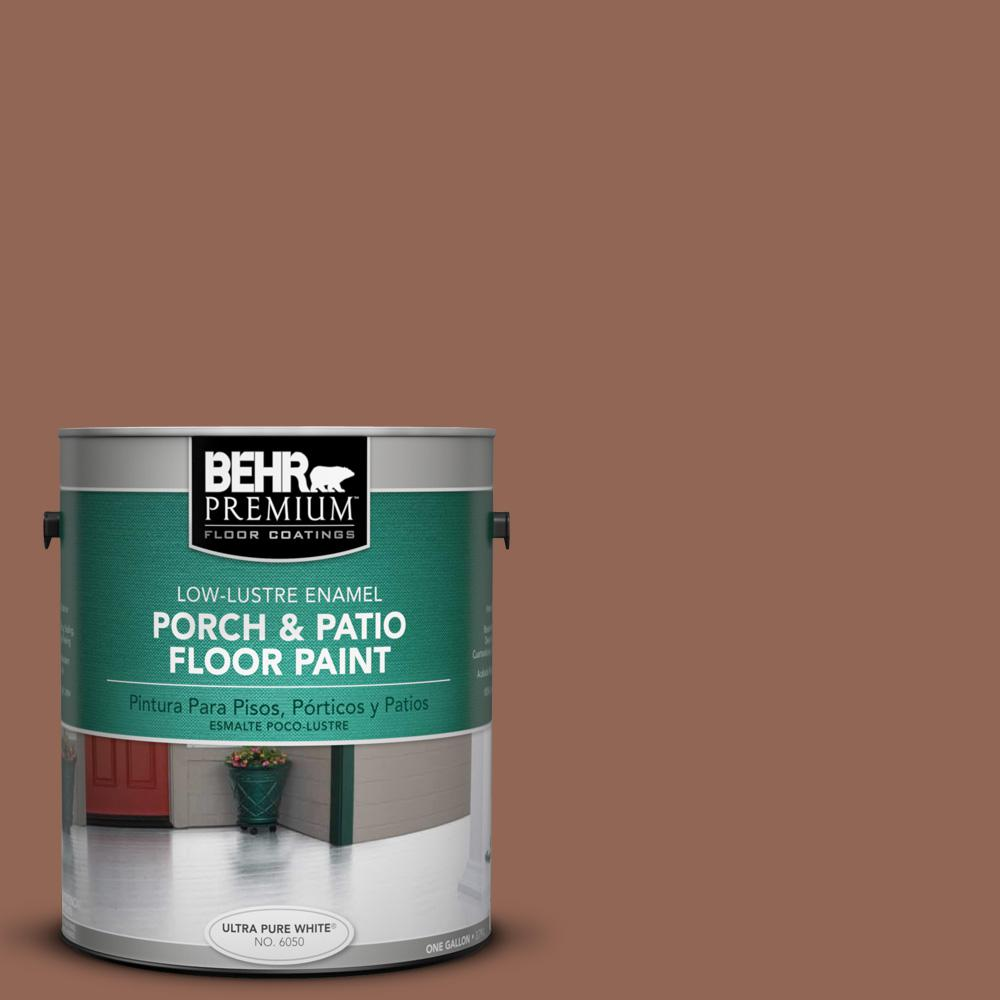 1 gal. #S190-6 Rio Rust Low-Lustre Porch and Patio Floor Paint
