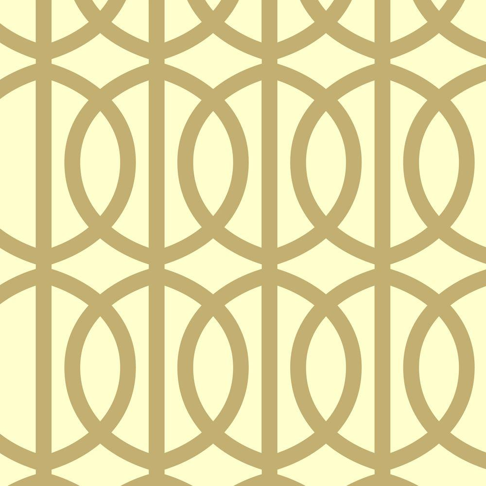 Stencil Ease Trousdale Wall Painting Stencil - 19.5 in. x 19.5 in ...