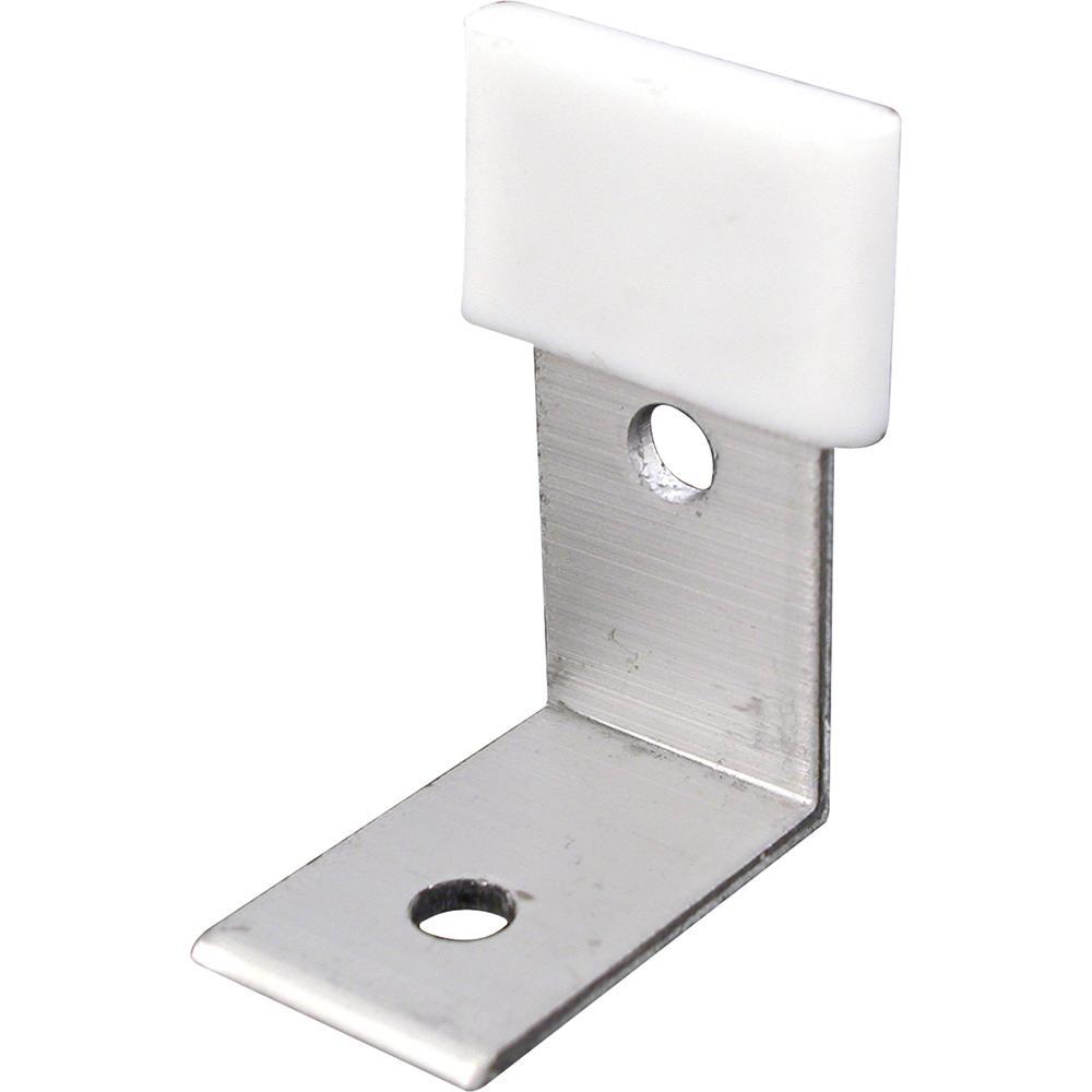 Prime-Line Bypass Door Bottom Guide Brackets (2-Pack)