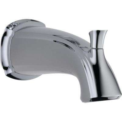 Addison 7-1/2 in. Non-Metallic Pull-Up Diverter Tub Spout in Chrome