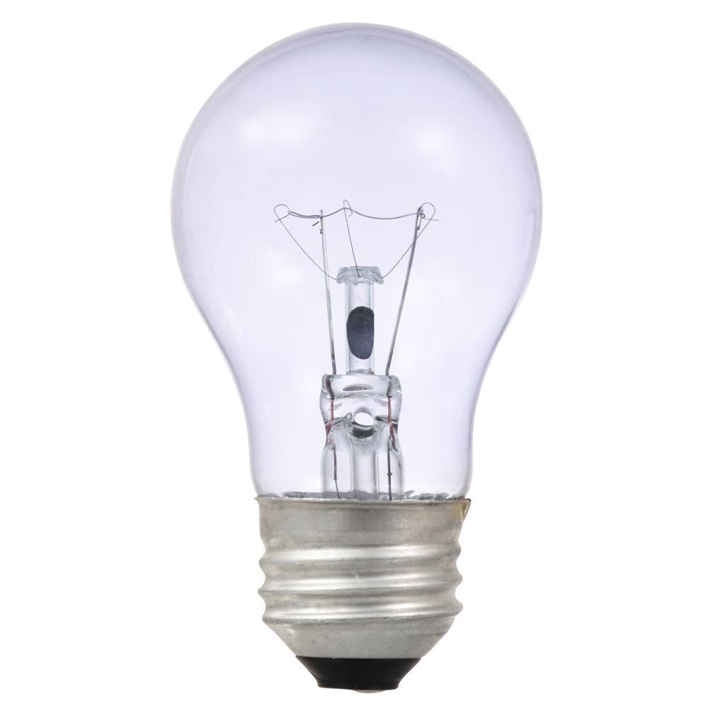 40-Watt A15 Clarity Incandescent Light Bulb