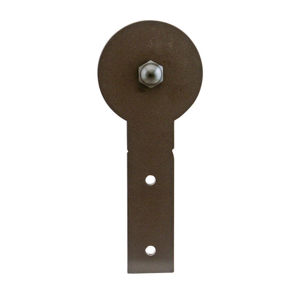 6-11/16 in. x 2-3/4 in. Round Stick Oil Rubbed Bronze Roller Strap