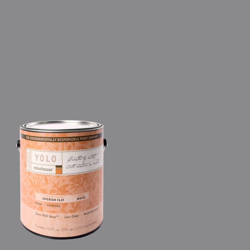 YOLO Colorhouse 1-gal. Wool .04 Flat Interior Paint-DISCONTINUED