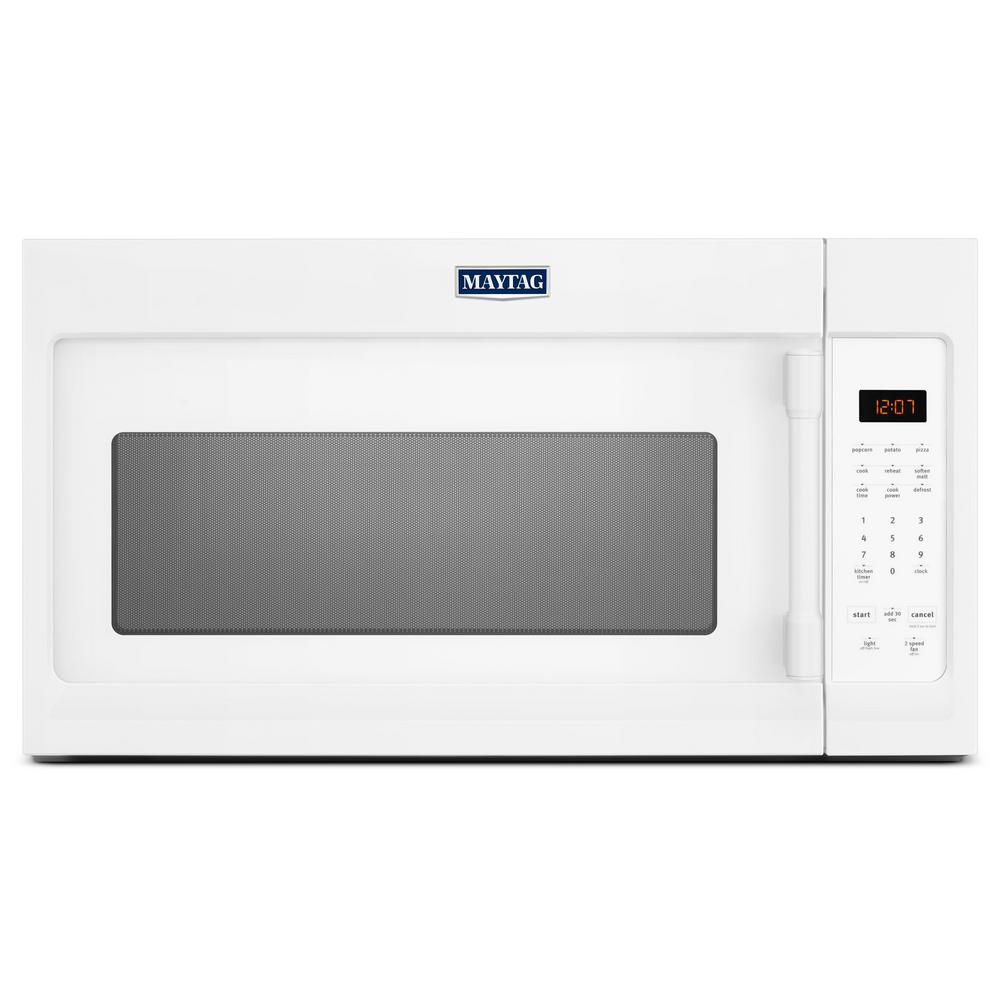Maytag 1.7 cu. ft. Over the Range Microwave Hood in White