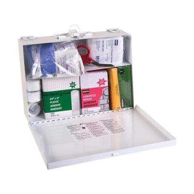 First Aid Kit in Metal Case