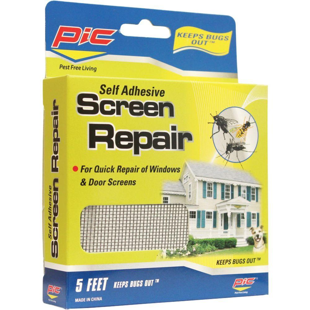 PIC 5 ft. Screen Repair (2-Packs) by PIC