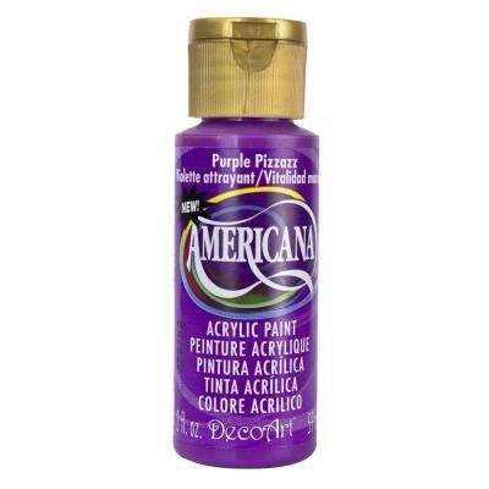 Americana 2 oz. Purple Pizzazz Acrylic Paint
