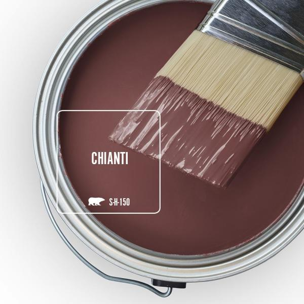 Reviews For Behr Ultra 5 Gal S H 150 Chianti Flat Exterior Paint And Primer In One 485305 The Home Depot