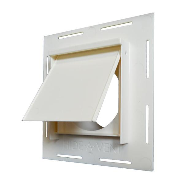 4 in. Round Exterior Vent for Dryers and Bathroom fans