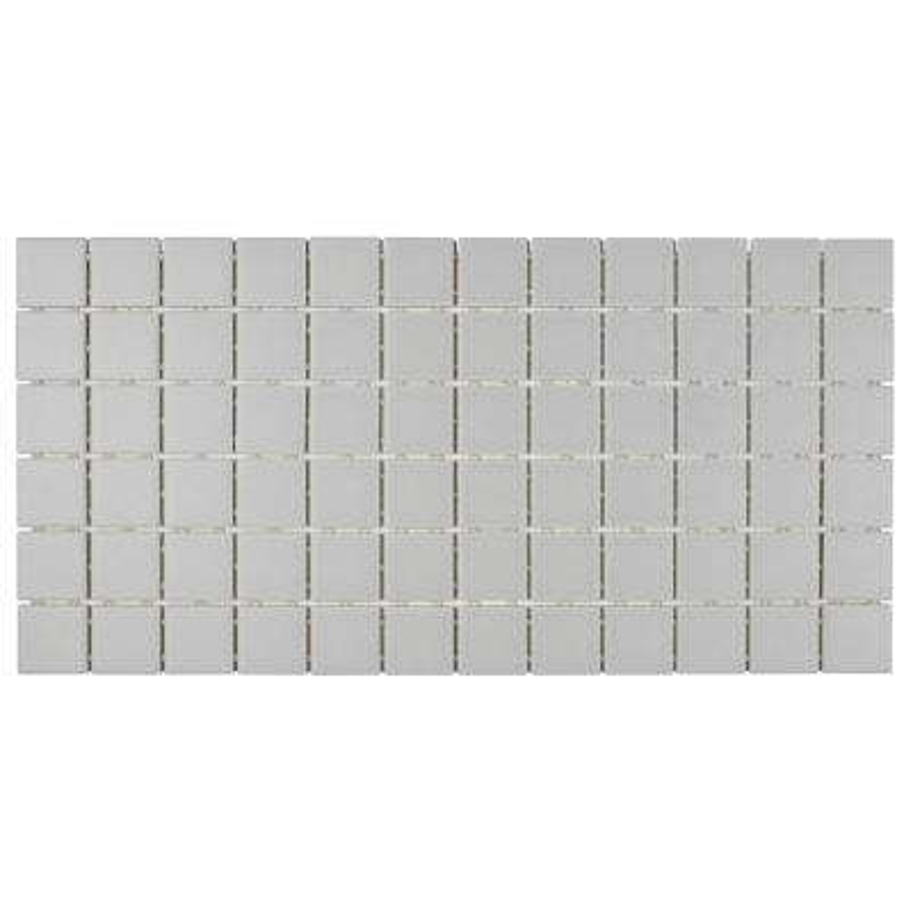 Restore Matte Stone Gray 12 in. x 24 in. x 6.35 mm Glazed Ceramic Mosaic Tile (2 sq. ft./piece)