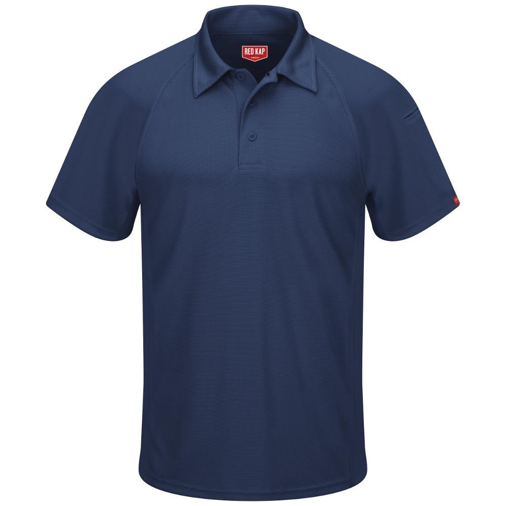 san francisco popular stores great look Red Kap Men's Size 3XL Navy Active Performance Polo-SK92NV SS 3XL ...