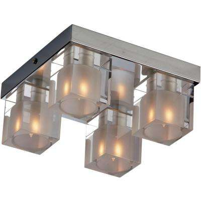 Blocs 4-Light Flush Mount