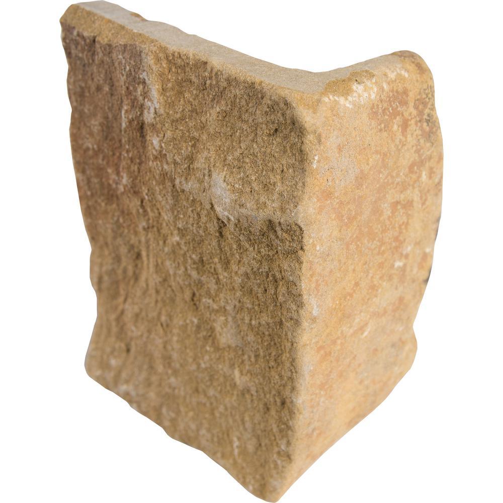 London Natural Sandstone Wall Loose Veneer Corner (40 lin. ft. / pallet)