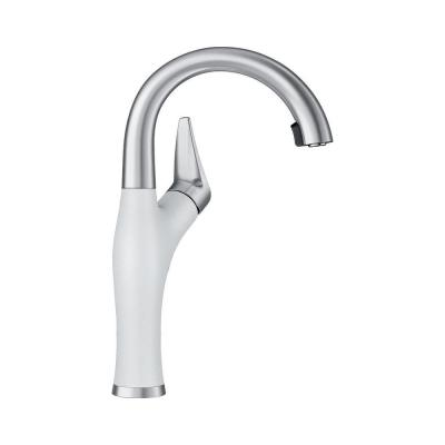 White 1 Hole Kitchen Faucets Kitchen The Home Depot