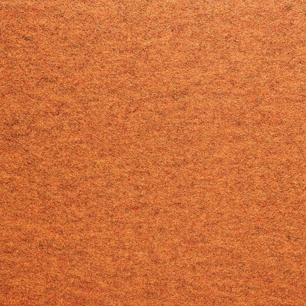Fedora Clementine Texture 19.7 in. x 19.7 in. Carpet Tile (6