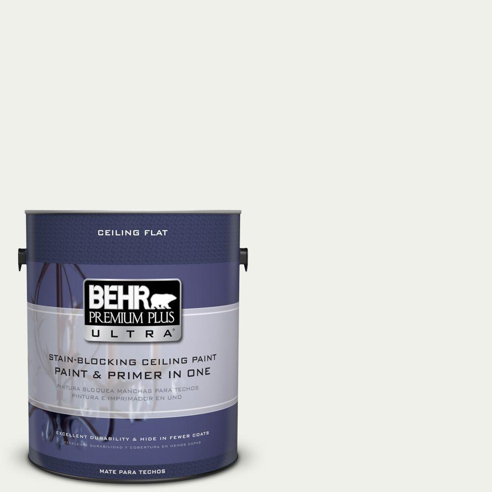 1 gal. No. UL190-12 Ceiling Tinted to Falling Snow Interior Paint