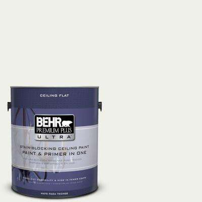 1 gal. No. UL190-12 Ceiling Tinted to Falling Snow Interior Paint and Primer in One