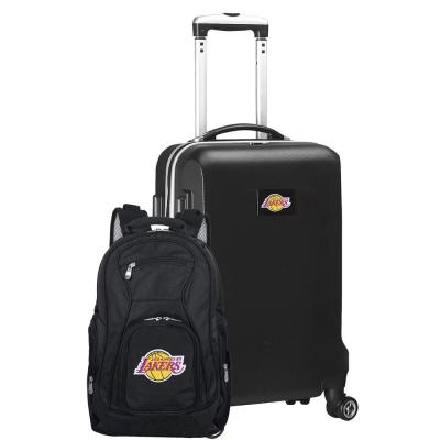 LA Lakers Deluxe 2-Piece Backpack and Carry on Set