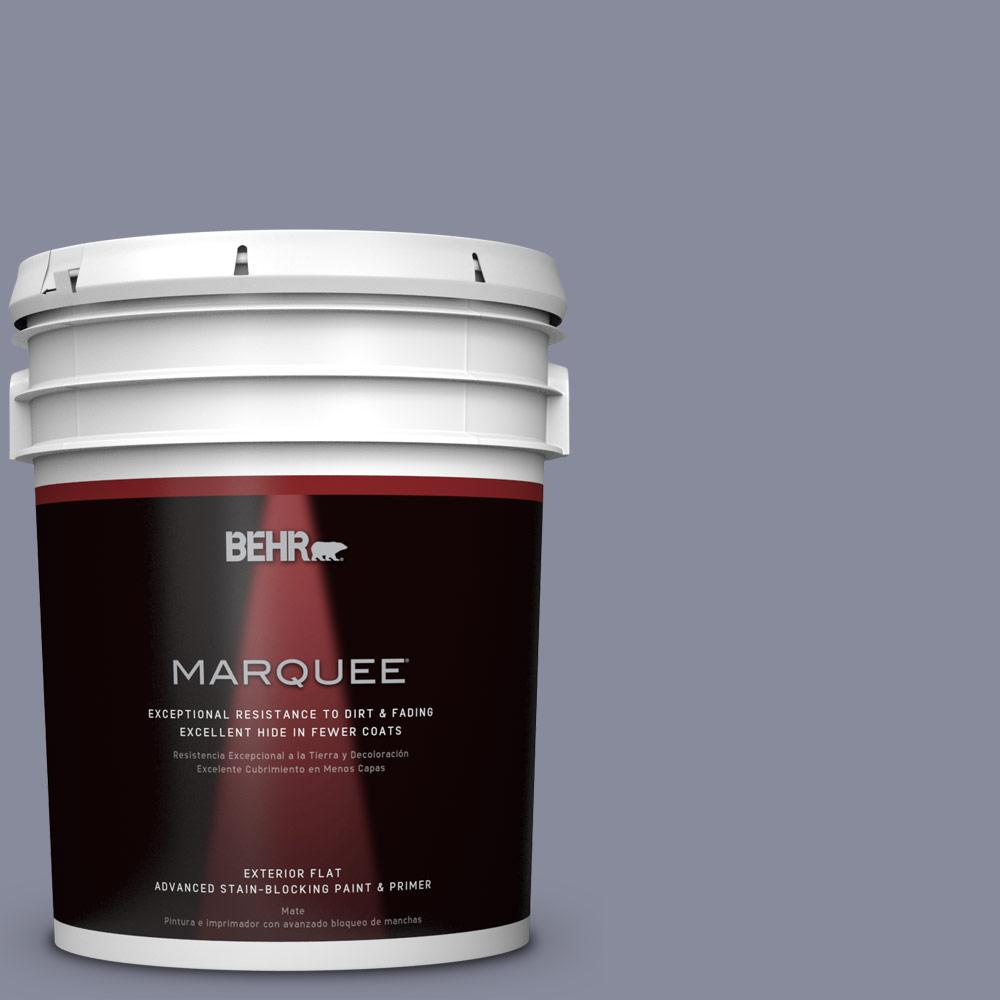 BEHR MARQUEE 5-gal. #PPU15-8 River Tour Flat Exterior Paint