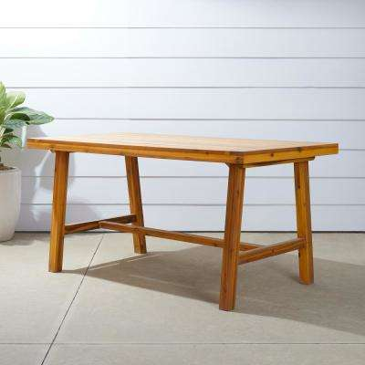 Miami Rectangular Wood Outdoor Dining Table