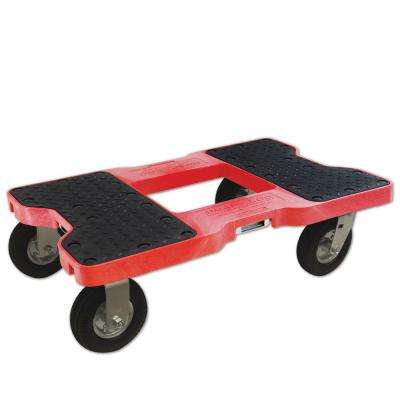 1,500 lb. Capacity Air-Ride Dolly in Red