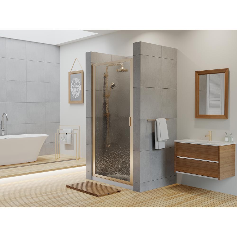 Coastal Shower Doors Paragon Series 27 In X 65 In Framed