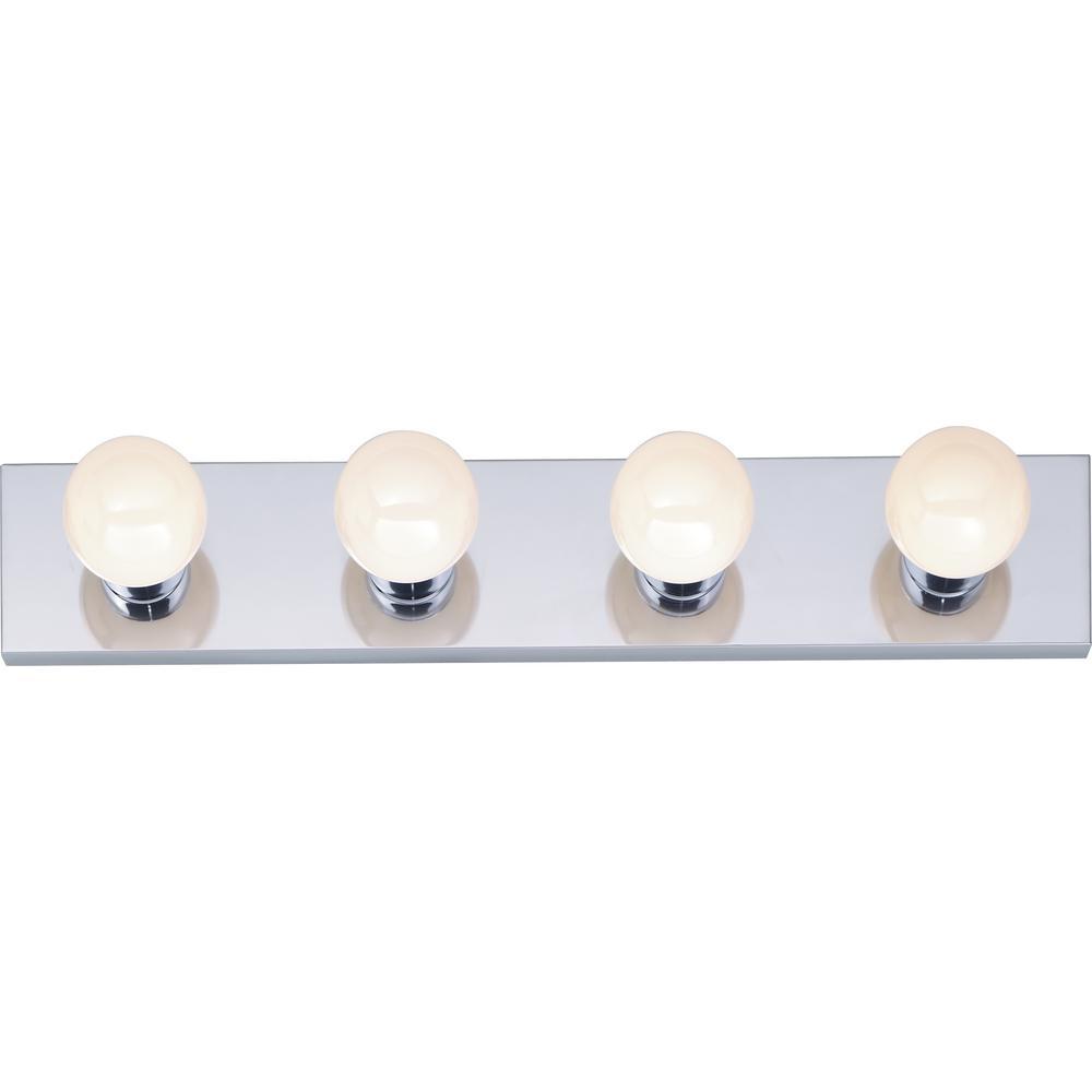Tony 24 in. 4-Light Polished Chrome Vanity Light
