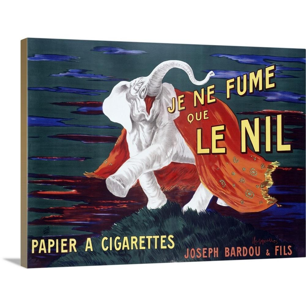 """Je Ne Fume Le Nil Vintage Advertising Poster"" by Great BIG"