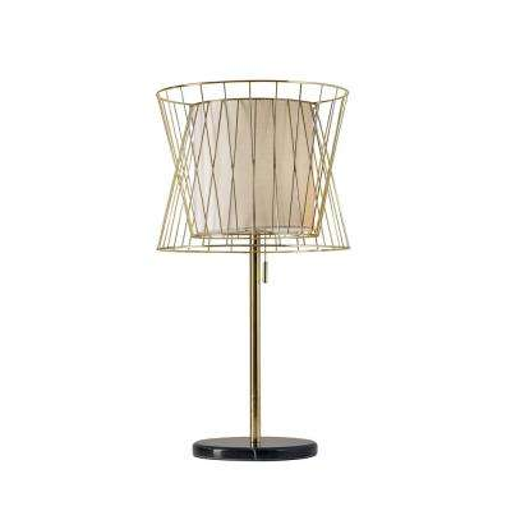Verona 29 in. Gold Table Lamp
