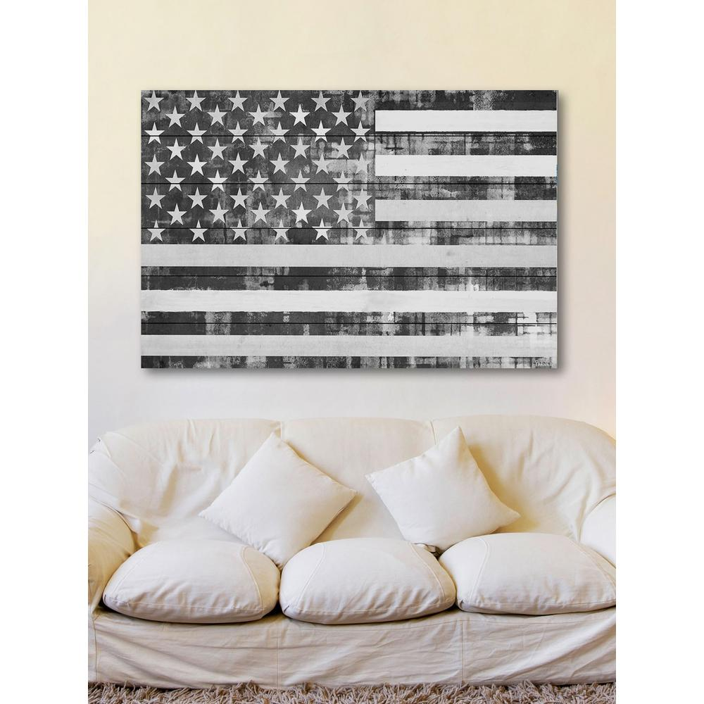 16 in h x 24 in w american dream by parvez taj printed for Home decor s13 9ad