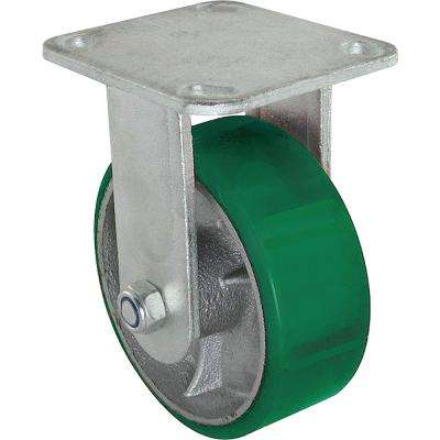 8 in. Polyurethane Rigid Caster with 1000 lb. Load Rating