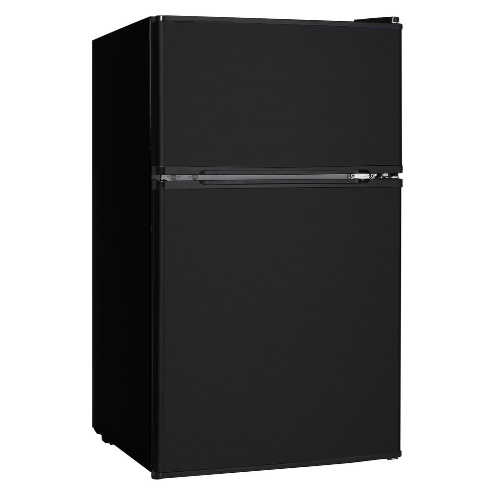 3.1 cu. ft. Mini Refrigerator/Freezer in Black