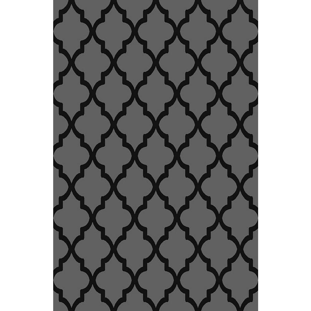 Ephes Collection Grey 5 ft. x 7 ft. Area Rug