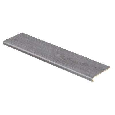 Alberta Spruce 94 in. L x 12-1/8 in. W x 1-11/16 in. T Vinyl to Cover Stairs 1 in. T