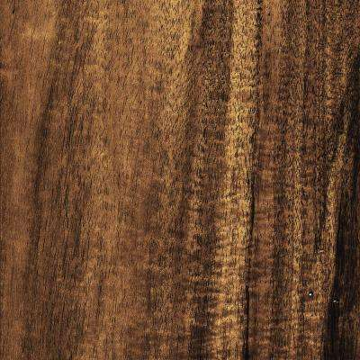 Hand Scraped Natural Acacia 3/8 in. T x 5 in. W x Varying Length Click Lock Exotic Hardwood Flooring (26.25 sq.ft./case)