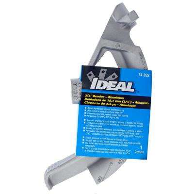 3/4 in. EMT 1/2 in. Rigid or IMC Aluminum Bender Head