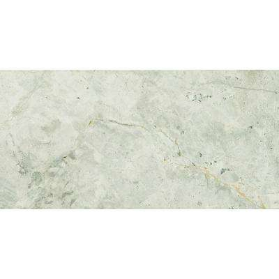 Tundra Gray 3 in. x 6 in. Polished Marble Floor and Wall Tile (5 sq. ft. / case)