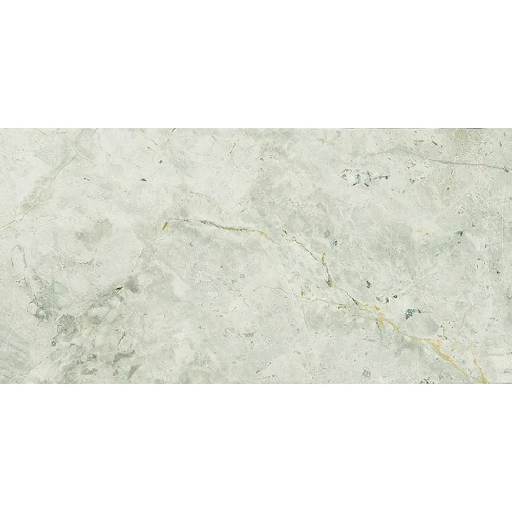Tundra Gray 3 In X 6 Polished Marble Floor And Wall Tile