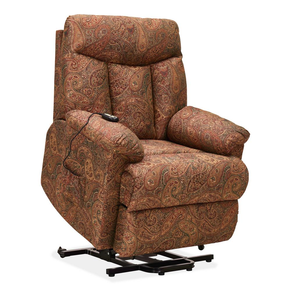 ProLounger ProLounger Paisley Wall Hugger Power Lift Reclining Chair ...