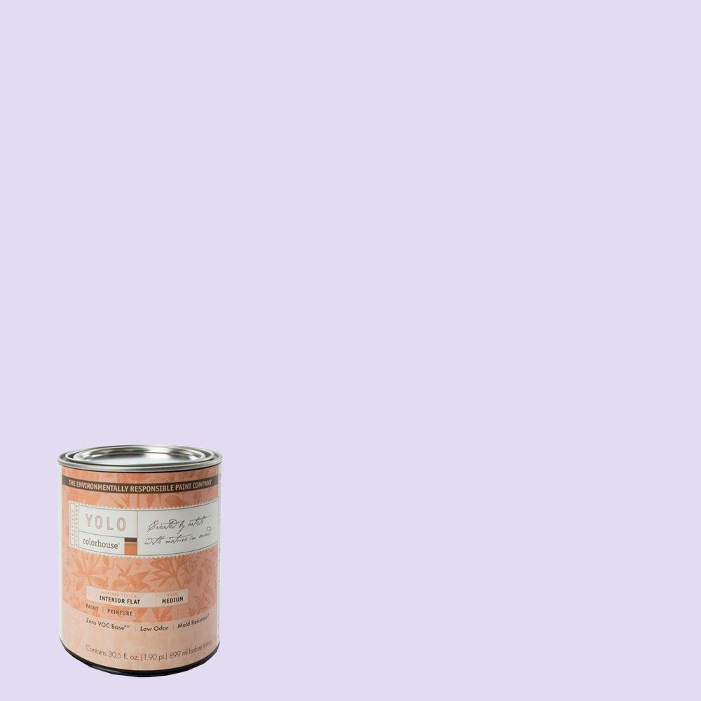 YOLO Colorhouse 1-Qt. Sprout .07 Flat Interior Paint-DISCONTINUED