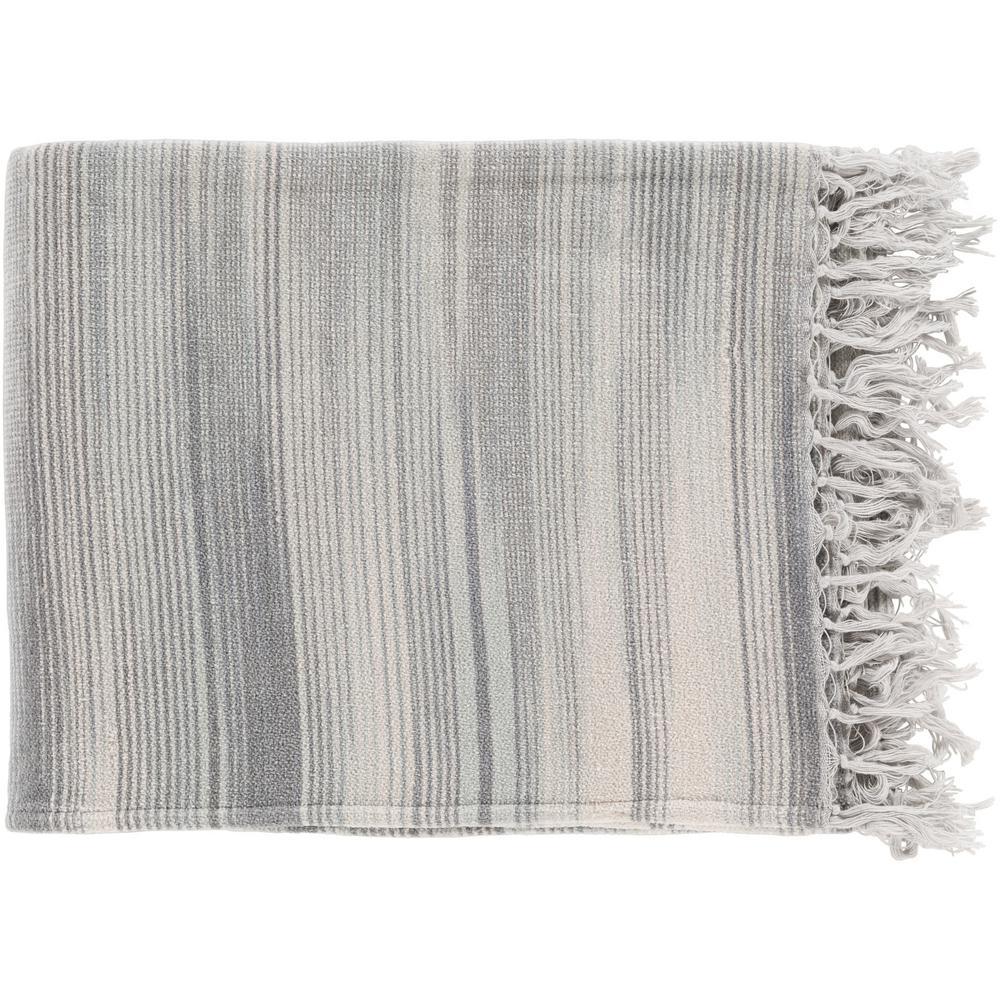 Simonov Charcoal Cotton Throw