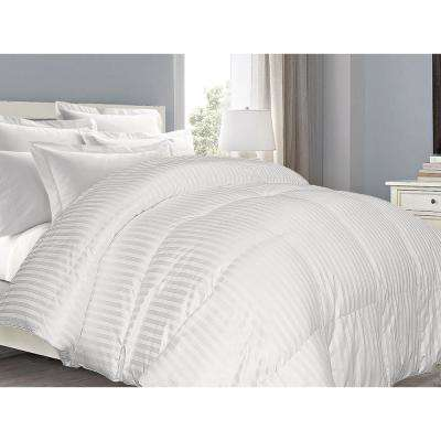 White Down Twin Comforter