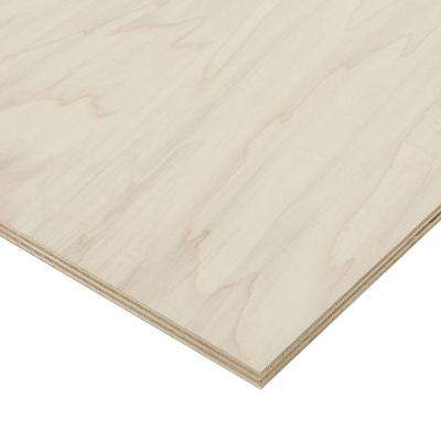 3/4 in. x 2 ft. x 4 ft. PureBond Poplar Plywood Project Panel (Free Custom Cut Available)