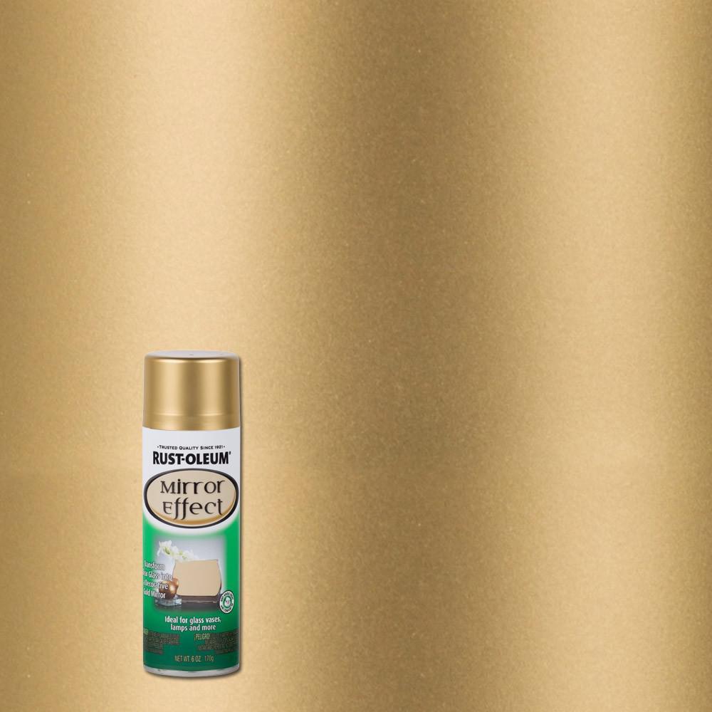 6 oz. Gold Mirror Finish Spray Paint