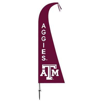 NCAA Texas A&M Aggies Feather 1 ft. x 1.5 ft. Flag